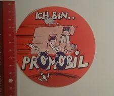 Aufkleber/Sticker: Ich bin Promobil (19101645)