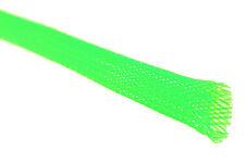 Tejidos manguera entramado manguera cable protección ø8mm en verde flúor, por ejemplo, servo regulador