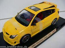 1/18 YatMing Pontiac Vibe GTR 2003 gelb 92508