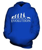 POINTER EVOLUTION OF MAN KIDS HOODIE BOYS HOODY GIRLS DOG LOVER GIFT