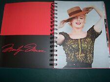 Nos 2015 Marilyn Monroe Weekly Monthly Calendar 7x9 planner tabs spiral notebook