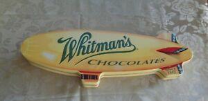 Lovely Blimp Airship Whitman's Chocolates Tin
