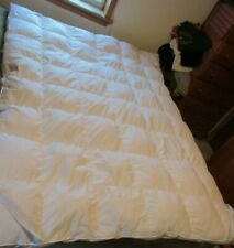 Featherbed Queen size 60x80 inches, great condition McLeland Design cotton/fill