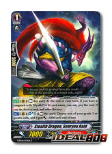Cardfight Vanguard  x 4 Stealth Dragon, Senryou Raid - G-BT10/079EN - C Mint