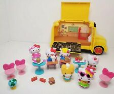 Hello Kitty School Bus Play Set with 6 Figures & Accessories Jada Toys Sanrio