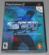 EyeToy Operation Spy for Playstation 2 Brand New! Factory Sealed!