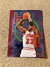 Michael Jordan 1995-96 NBA Hoops Hot List #1