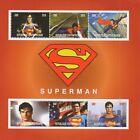SUPERMAN COMIC MOVIE CHRISTOPHER REEVE 2016 MNH STAMP SHEETLET