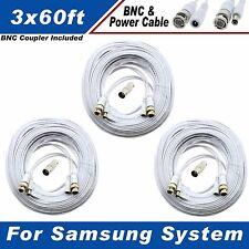 PREMIUM 180FT BNC CABLE FOR SAMSUNG SDH-B74081, SDH-C74041, SDC-9443BC