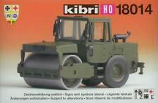 Kibri 18014 - HAMM Vibrationswalze Bundeswehr Militär Armee 1:87 H0 * NEU
