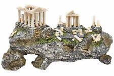 Large Greek Acropolis Ruin on Hillside Ancient Ruins Fish Tank Cave Ornament
