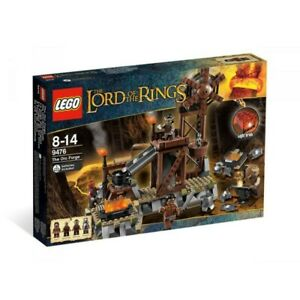 LEGO 9476 new - IL SIGNORE DEGLI ANELLI - LA FUCINA DEGLI ORCHI