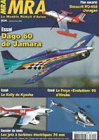 MRA N°804 PLAN : DASSAULT MD-450 OURAGAN / DAGO 60 DE JAMARA / KELLY DE KYOSHO