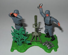 Timpo Toys - Deutsche Mörser Stellung  Diorama   WW 2 - TOP