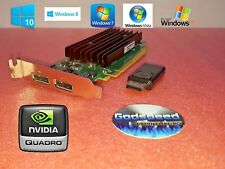 Dell Optiplex 760 780 790 NVIDIA SFF Dual Displayport Video Card + HDMI Adapter