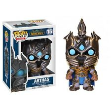 WOW World of Warcraft Arthas Menethil the Lich King Cute Bobblehead Figure - Box