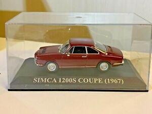 1/43 Ixo/Altaya: Simca 1200 S Coupé - 1967 -
