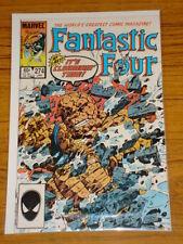 FANTASTIC FOUR #274 VOL1 MARVEL SPIDERMAN ALIEN COSTUME JANUARY 1985