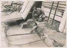 PARIS c. 1930 - Ouvrier Surveillance Débit Puits artésien Rue Blomet - PRM 611