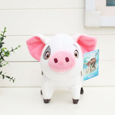 "New Studio Disney Moana Wailea Cute Pig PUA Plush Doll Soft Toy 8"" Kid's Gift"