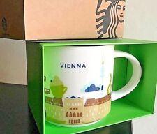 Rare NEW Starbucks Limited Edition Vienna Austria Ceramic Mug Cup You Are Here