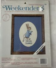 "Weekenders Counted Cross Stitch Kit ""Peter Rabbit� Open Complete Bunny"