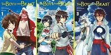 Boy and the Beast Series English Manga Collection Books 1-3 Trade Paperback NEW!