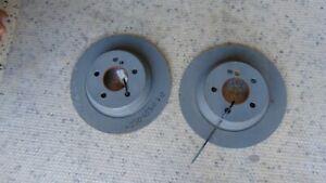 Pair Rear Brake Discs A2304230712 Mercedes Sl 350 R230