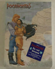 Disney Pocahontas Die-cut Notepad 100 Sheets recycled paper New
