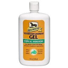 Absorbine Veterinary Liniment Gel 12 Oz