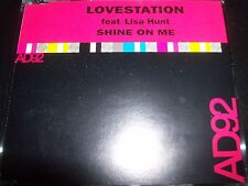 Lovestation Featuring Lisa Hunt Shine On Me Remixes CD Single – Like New