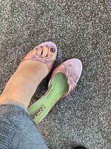 Ladies Pink Designer Replay Heels Sandals Summer Shoes Uk Size 6 (Eu Size 39)