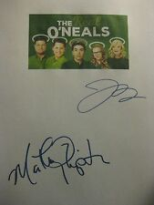 The Real O'Neals Signed TV Script Martha Plimpton Jay R. Ferguson reprint comedy