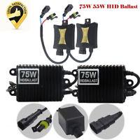 55W 75W HID Xenon digital Reemplazo universal balastos For H1 H3 H4 H7 H8 H9 12V