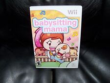 Babysitting Mama (Nintendo Wii, 2010) EUC