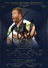 ✺Signed✺ 2017 PENRITH PANTHERS NRL Card TRENT MERRIN
