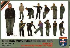 Orion Models 1/72 GERMAN WORLD WAR II PANZER SOLDIERS Figure Set