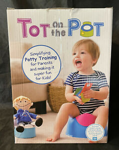 Tot on the Pot Blonde Boy - 2018 Potty Training Product of the Year NEW
