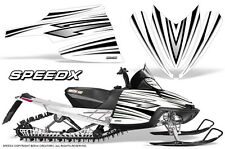 ARCTIC CAT M CROSSFIRE SNOWMOBILE SLED CREATORX GRAPHICS KIT SPEEDX BW