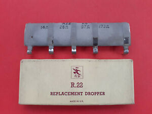 Mains Dropper Resistor ~ Thorn / BRC 850 Dual Standard TV ~ RS Components R22