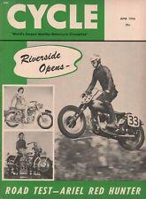 1956 June Cycle - Vintage Motorcycle Magazine