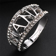 Zirconia Crystal Finger Ring Jewelry Tos Nana Ring Size 5-11 Grandmother Ring