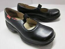vtg MUDD Mary Jane MEDIA Shoe Chunky Platform Goth Lolita Work Vegan Black 8 VNC