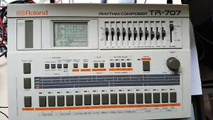 ROLAND Drumcomputer TR 707 + Netzteil