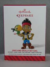 JAKE AND SKULLY SET SAIL - DISNEY THE NEVER LAND PIRATES 2014 HALLMARK ORNAMENT