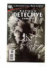 BATMAN DETECTIVE COMICS #838 1ST PRINT