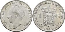 Gulden 1944 Niederlande Wilhelmina, 1890-1948, Silber, Wappen #PDK32