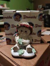 Dreamsicles #Dc322 'Irish Eyes' Cherub Figurine Shamrocks March 1997 Iob