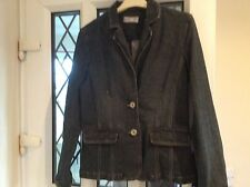 "WALLIS DENHEIM JACKET SIZE 12 IN GOOD CONDITION 34"" CHEST 24"" LONG"