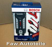 Bosch Batterie Lade- und Erhaltungsgerät Pkw Motorräder 6V/12V Neu BOSCH C3 *
